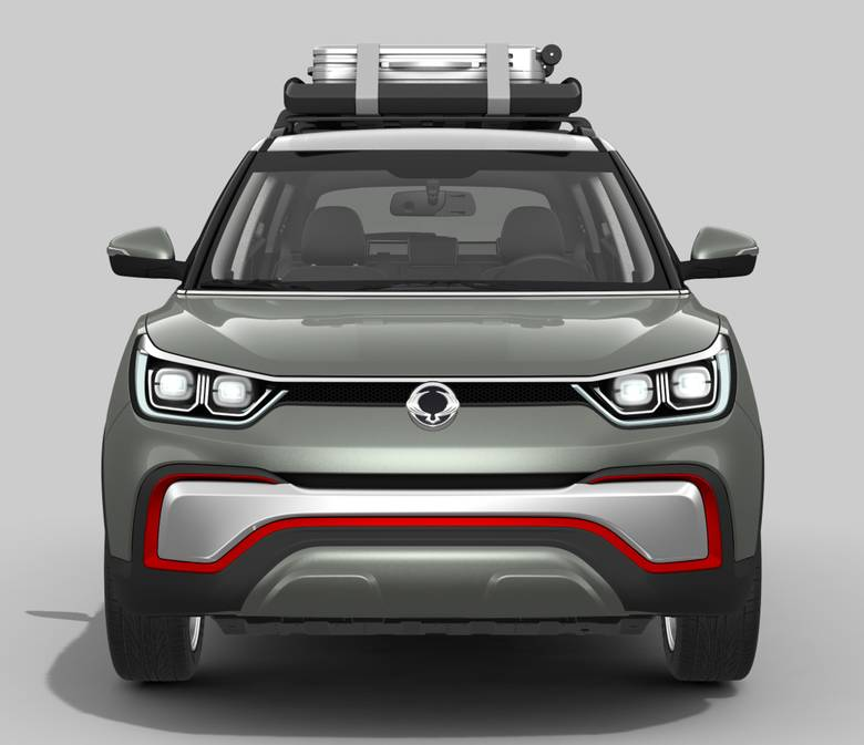 Ssangyong Tivoli 1 6 Se Suv Diesel Hatchback: SSANGYONG XIV ADVENTURE