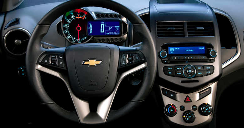 Chevrolet Sonic Hatchback Cockpit