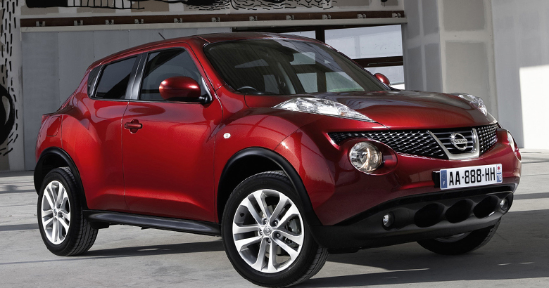 Autotopic de topicwelt for Nissan juke schwarz rot